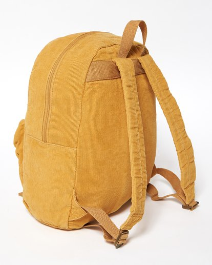 3 Schools Out Cord Backpack Yellow JABKVBSC Billabong