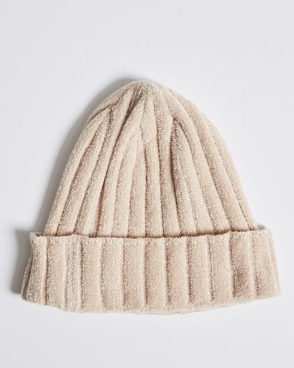 2 Warm Up Chenille Beanie Beige JABNQBWA Billabong