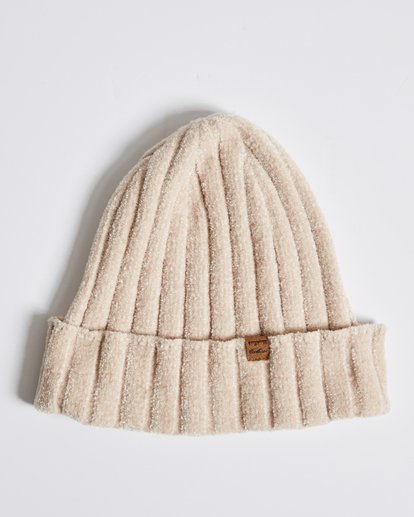 1 Warm Up Chenille Beanie Beige JABNQBWA Billabong