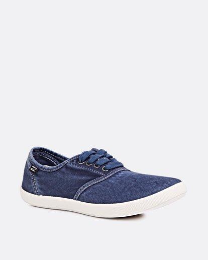 1 Addy Lace Up Shoe Blue JAFTLADD Billabong