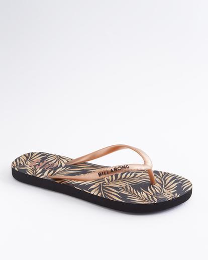 1 Dama Rubber Flip Flop Sandal Brown JAFTMDAM Billabong