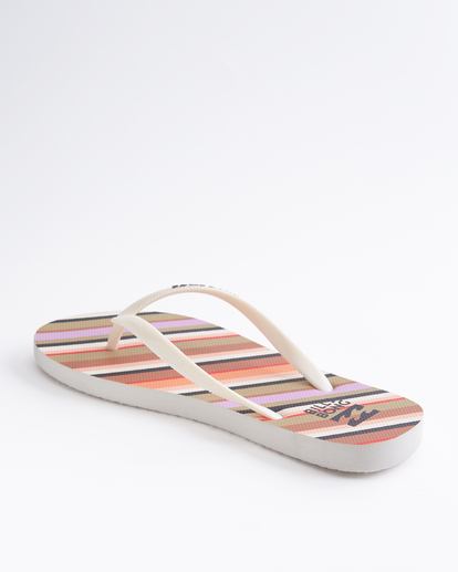 2 Dama Rubber Flip Flop Sandal Orange JAFTMDAM Billabong