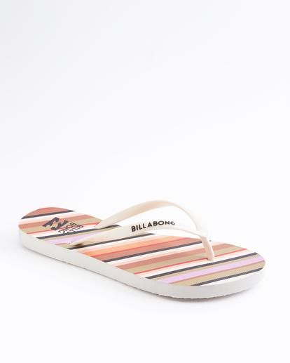 1 Dama Rubber Flip Flop Sandal Orange JAFTMDAM Billabong
