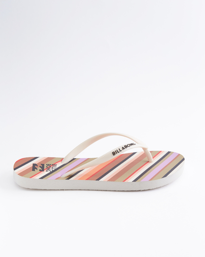 3 Dama Rubber Flip Flop Sandal Orange JAFTMDAM Billabong