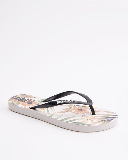 2 Dama Rubber Flip Flop Sandal Green JAFTMDAM Billabong