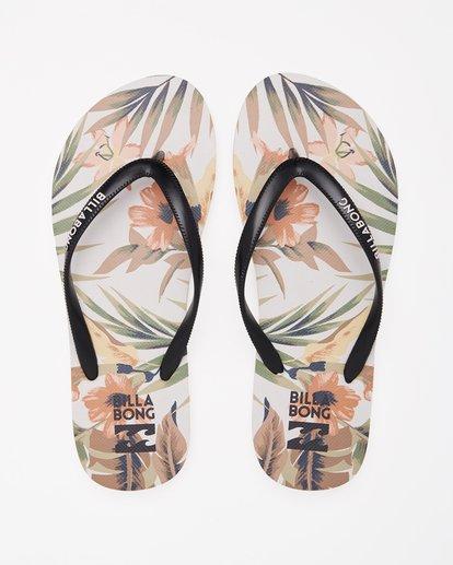 1 Dama Rubber Flip Flop Sandal Green JAFTMDAM Billabong