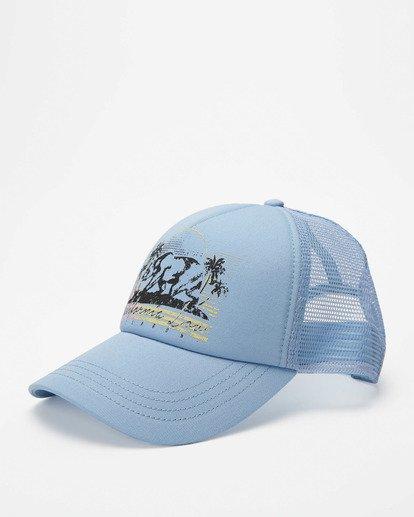 0 Pitstop Trucker Hat White JAHT7PIT Billabong