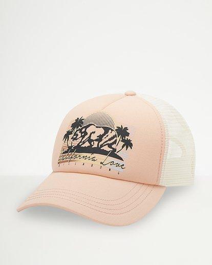 0 Pitstop Trucker Hat Green JAHT7PIT Billabong