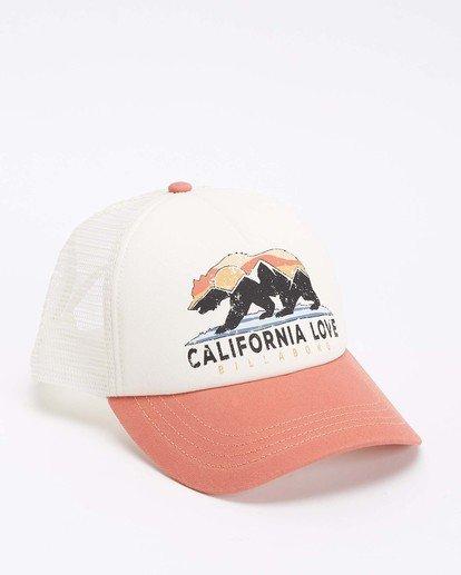 3 Pitstop Trucker Hat Yellow JAHT7PIT Billabong