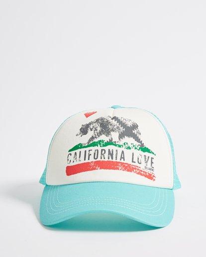1 Pitstop Trucker Hat Green JAHT7PIT Billabong
