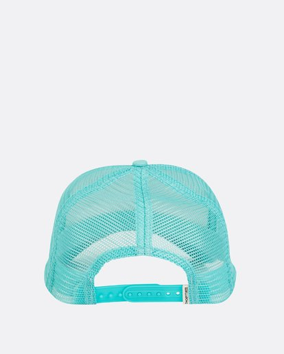 3 Pitstop Trucker Hat Green JAHT7PIT Billabong