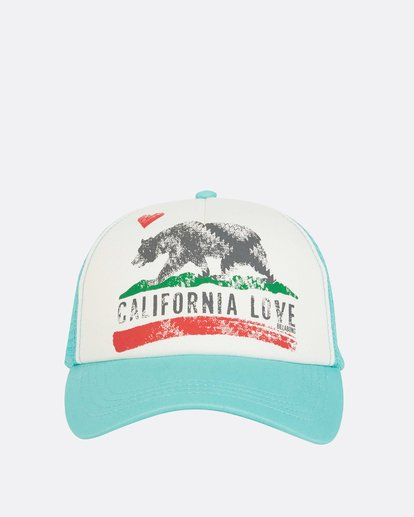 1 Pitstop Trucker Hat Green JAHT7PIT Billabong