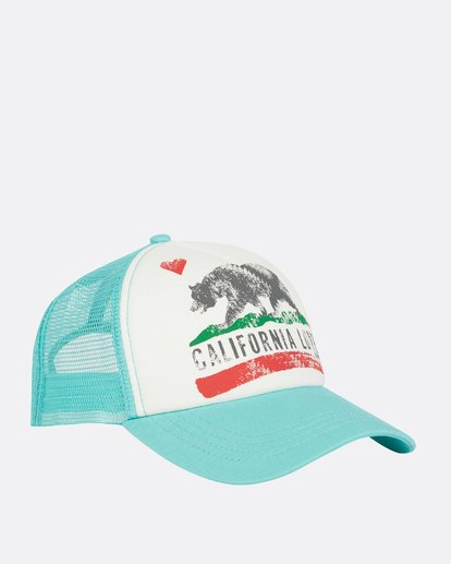 2 Pitstop Trucker Hat Green JAHT7PIT Billabong