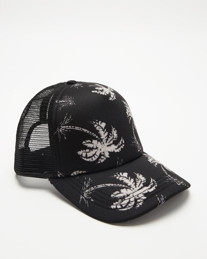 2 Heritage Mashup Trucker Hat Black JAHTBHER Billabong