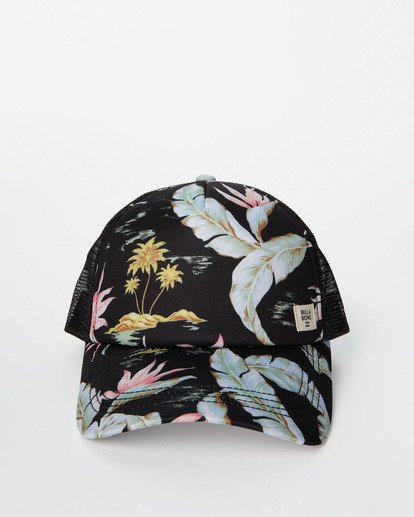 1 Heritage Mashup Trucker Hat Black JAHTBHER Billabong