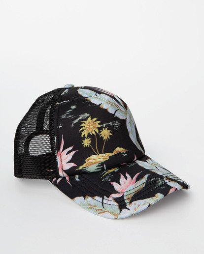 2 Heritage Mashup Trucker Hat Black JAHTBHER Billabong
