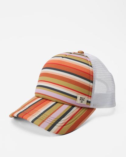0 Heritage Mashup Trucker Hat Multicolor JAHTBHER Billabong