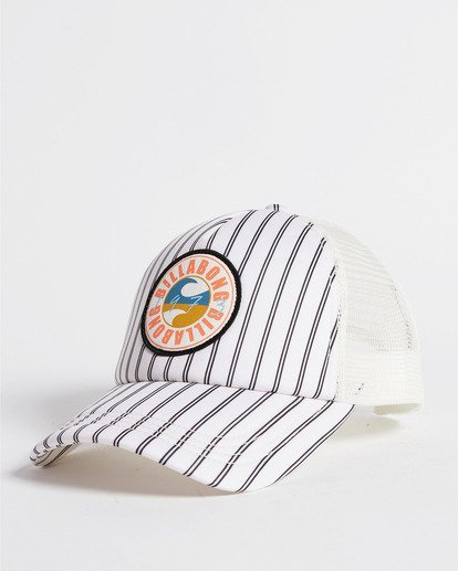 0 Heritage Mashup Trucker Hat White JAHTBHER Billabong