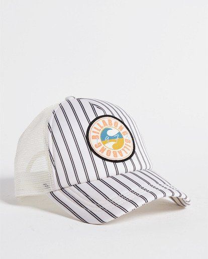 1 Heritage Mashup Trucker Hat White JAHTBHER Billabong