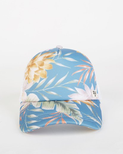 1 Heritage Mashup Trucker Hat Blue JAHTBHER Billabong