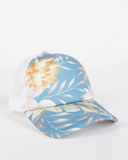 2 Heritage Mashup Trucker Hat Blue JAHTBHER Billabong