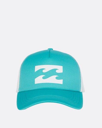 1 Billabong Trucker Hat Green JAHTDBIL Billabong