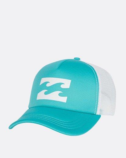 0 Billabong Trucker Hat Green JAHTDBIL Billabong
