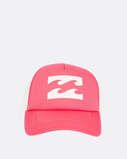 1 Billabong Trucker Hat Red JAHTDBIL Billabong