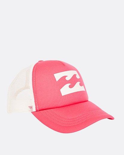 2 Billabong Trucker Hat Red JAHTDBIL Billabong