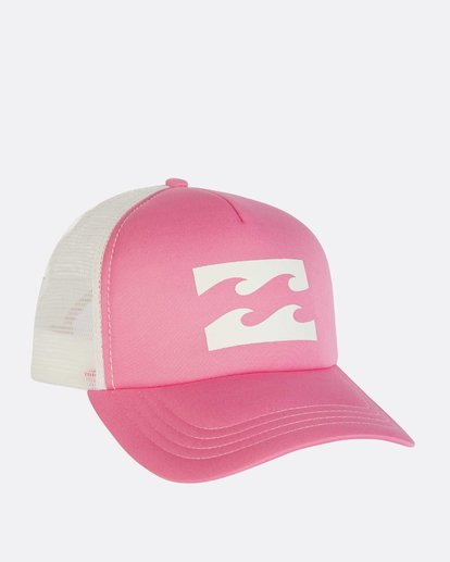 2 Billabong Trucker Hat Pink JAHTDBIL Billabong