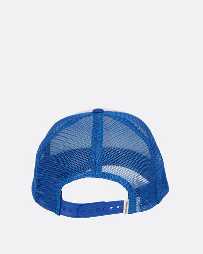3 Across Waves Trucker Blue JAHTLACR Billabong