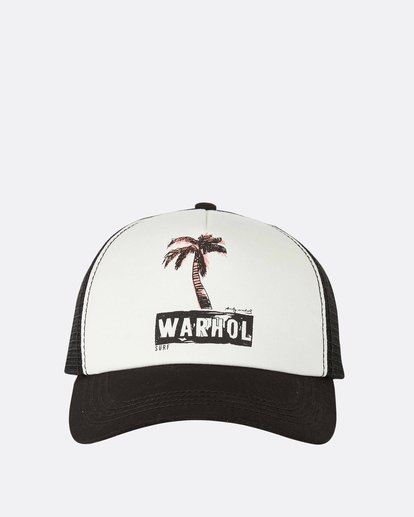 1 Warholsurf Holly Trucker Hat  JAHTLHOL Billabong