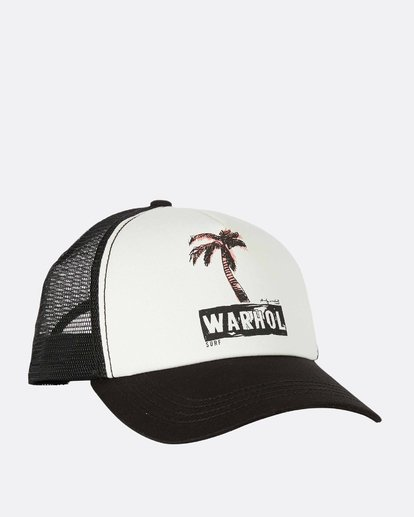 2 Warholsurf Holly Trucker Hat  JAHTLHOL Billabong