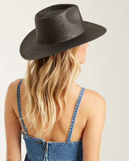 1 Desert Palms Straw Hat Black JAHW1BDE Billabong