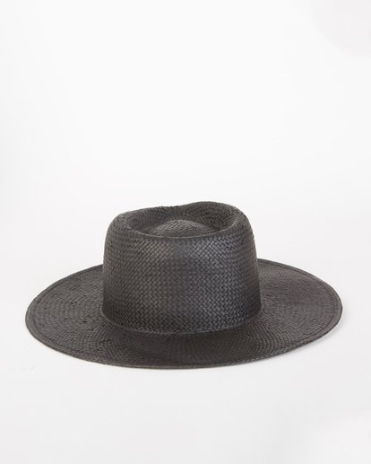 4 Desert Palms Straw Hat Black JAHW1BDE Billabong