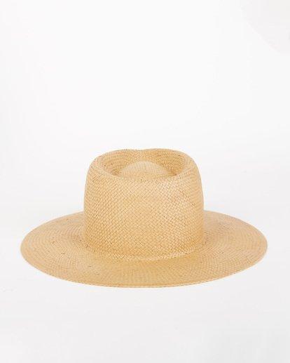 4 Desert Palms Straw Hat Red JAHW1BDE Billabong