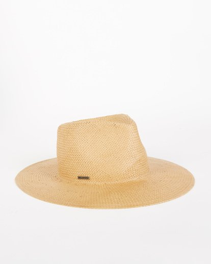 2 Desert Palms Straw Hat Red JAHW1BDE Billabong