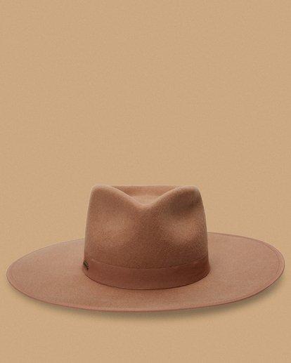 1 Salty Blonde Dream Big Wide Brim Hat Brown JAHW3BDR Billabong