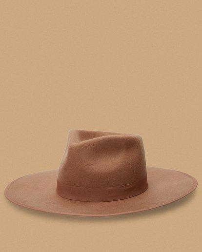0 Salty Blonde Dream Big Wide Brim Hat Brown JAHW3BDR Billabong