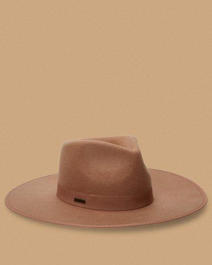 2 Salty Blonde Dream Big Wide Brim Hat Brown JAHW3BDR Billabong