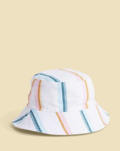 5 Salty Blonde Party On Reversible Bucket Hat Pink JAHW3BPA Billabong