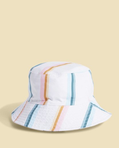 3 Salty Blonde Party On Reversible Bucket Hat Pink JAHW3BPA Billabong