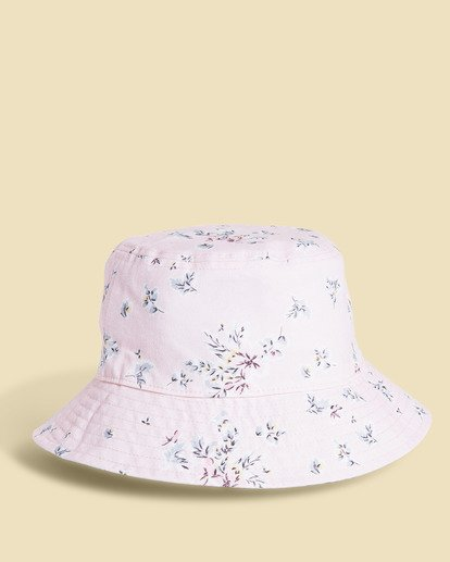 4 Salty Blonde Party On Reversible Bucket Hat Pink JAHW3BPA Billabong