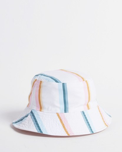 8 Salty Blonde Party On Reversible Bucket Hat Pink JAHW3BPA Billabong