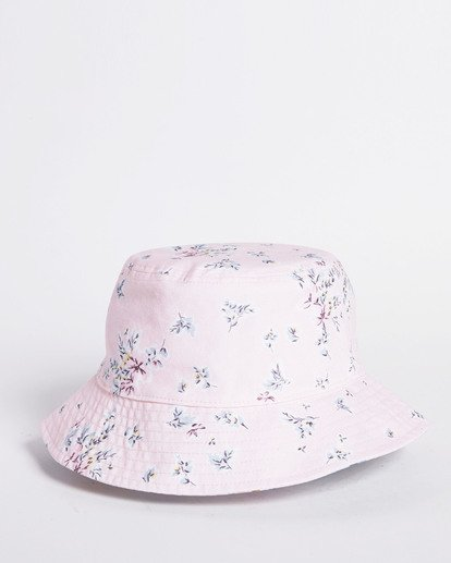 6 Salty Blonde Party On Reversible Bucket Hat Pink JAHW3BPA Billabong