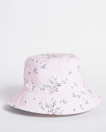 7 Salty Blonde Party On Reversible Bucket Hat Pink JAHW3BPA Billabong