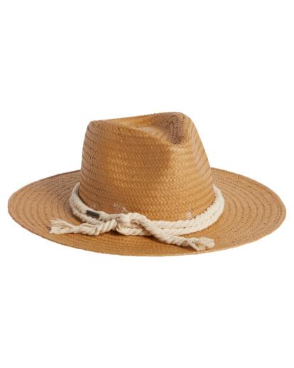 2 Pretty Twisted Hat White JAHW3BPR Billabong