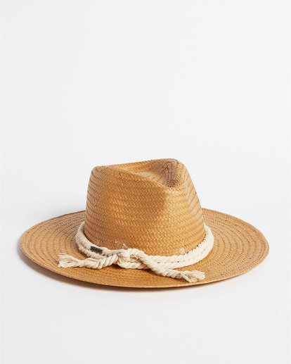 1 Pretty Twisted Hat White JAHW3BPR Billabong