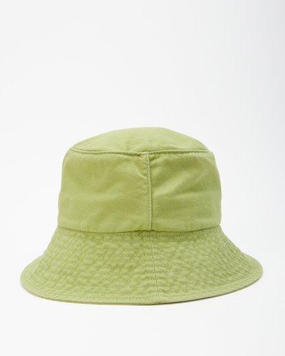 2 Still Single Bucket Hat Green JAHW3BST Billabong