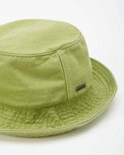 3 Still Single Bucket Hat Green JAHW3BST Billabong
